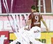 Coregrafie sud-americană cu sute de role de hîrtie înaintea derby-ului Rapid-Dinamo!