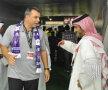 Cosmin este felicitat de prinți după triumful în Etisalat Pro-League