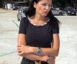 Brigitte Sfăt supraveghează toate lucrările din bază Foto: Libertatea