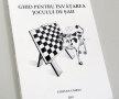 """Coperta cărţii """"Ghid pentru învăţarea jocului de şah""""."""