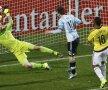 Ocazia lui Messi de dinainte de pauză