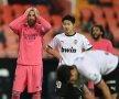 REAL dezastru! Echipa lui Zinedine Zidane a suferit un eșec răsunător, 1-4 în fața Valenciei. E al 3-lea eșec din acest sezon (două în La Liga, unul în Champions League). E cea mai dificilă perioadă cu Zidane pe bancă (foto: Guliver/Getty Images)