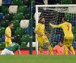 """Golul lui Bicfalvi a adus un punct României cu Irlanda de Nord, 1-1. """"Tricolorii"""" prind astfel la limită urna a 2-a pentru preliminariile CM 2022 FOTO: Guliver/Getty Images"""