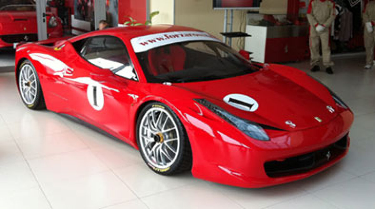 De-abia lansat, Ferrari F458 are deja trei clienţi români!