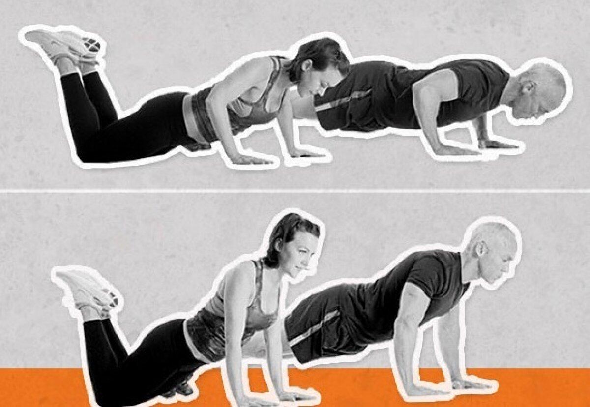 Cinci exerciţii pentru tonifierea braţelor