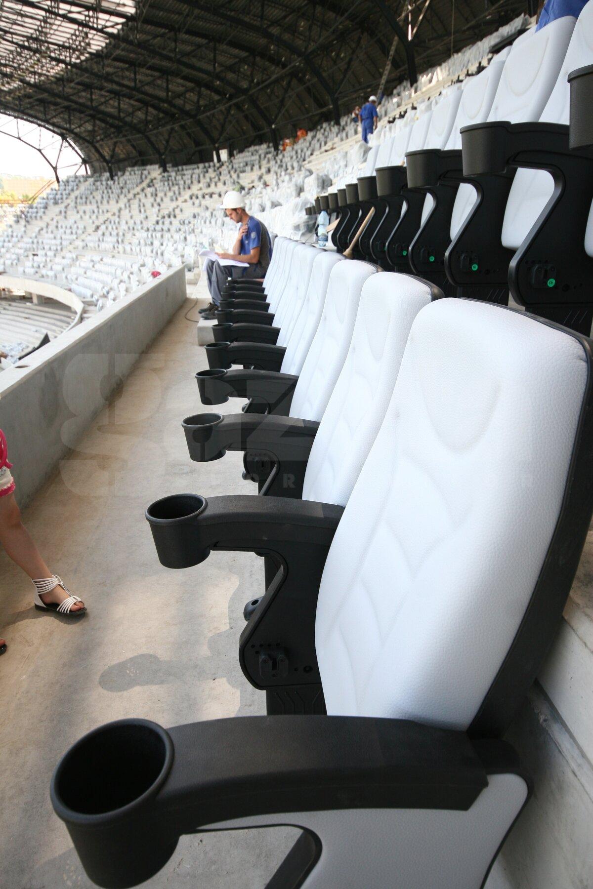 GALERIE FOTO » Aşa arată Cluj Arena! Stadionul va fi gata la sfîrşitul lui septembrie
