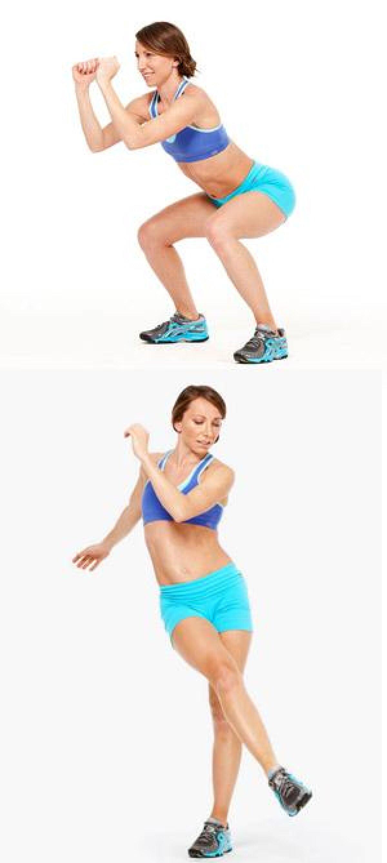 FOTO! Picioare tonifiate, acasă » 5 exerciţii pe care le poţi face fără ajutorul antrenorului