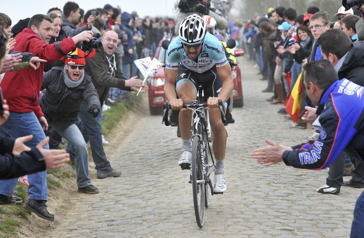 Boonen a cîştigat Paris-Roubaix. Şase imagini istorice AICI