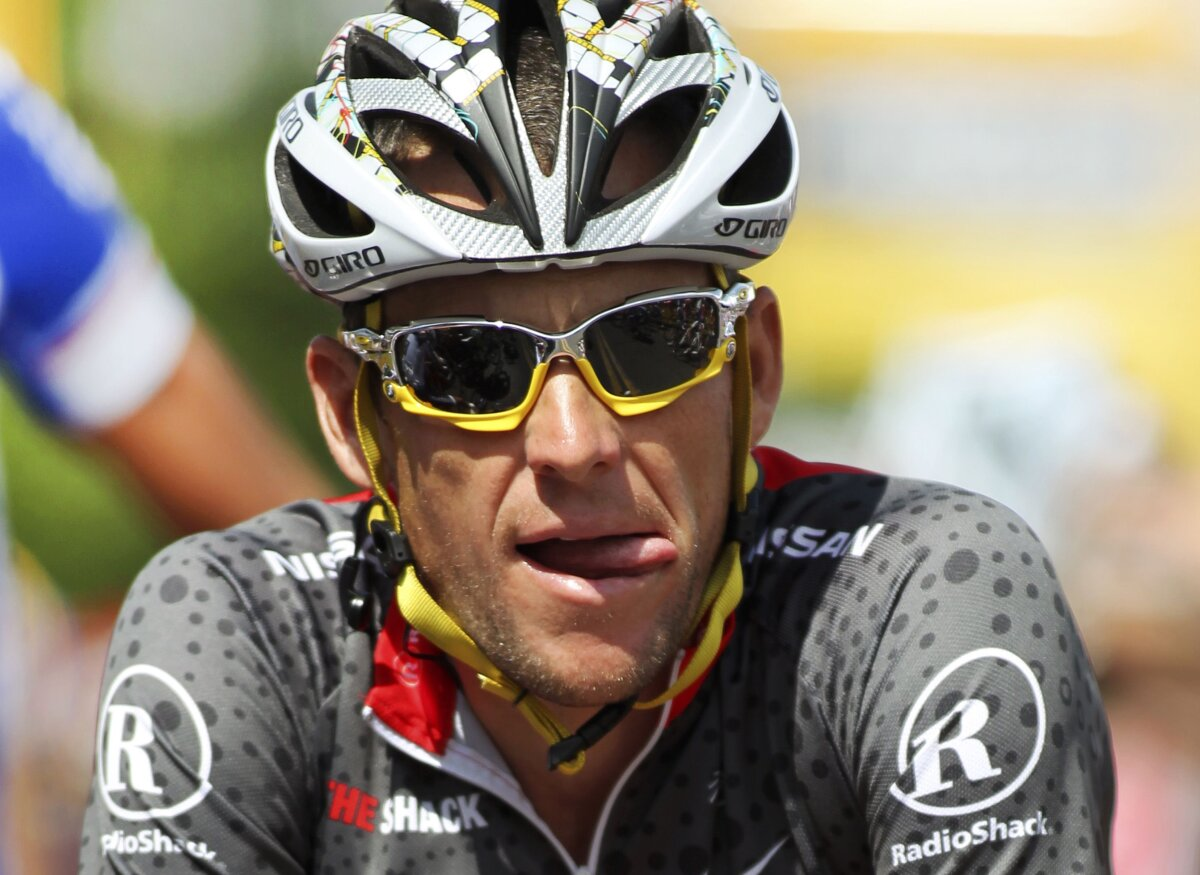 Lance Armstrong PIERDE cele 7 Tururi ale Franţei!