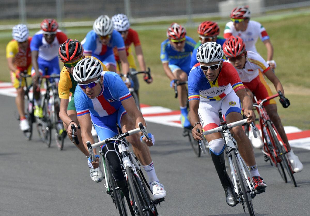 Stop la kilometraj » Eduard-Carol Novak a încheiat Jocurile Paralimpice cu locul opt din cursa pe şosea