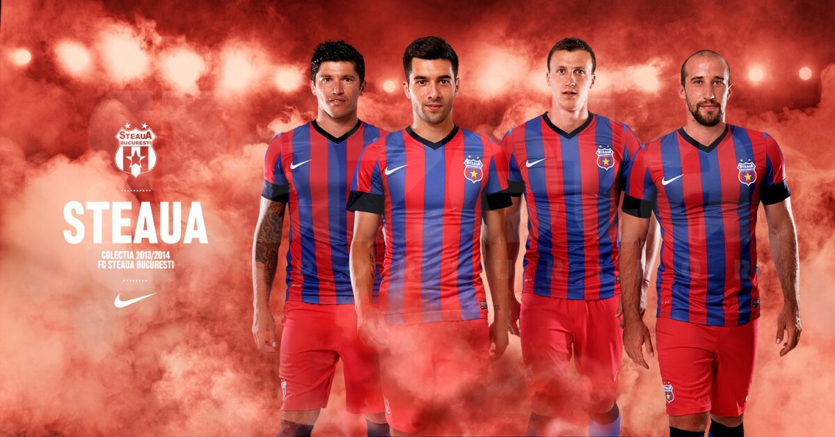 GALERIE FOTO » Oficial, Steaua are un alt echipament pentru sezonul 2013-2014. Cum ţi se pare?