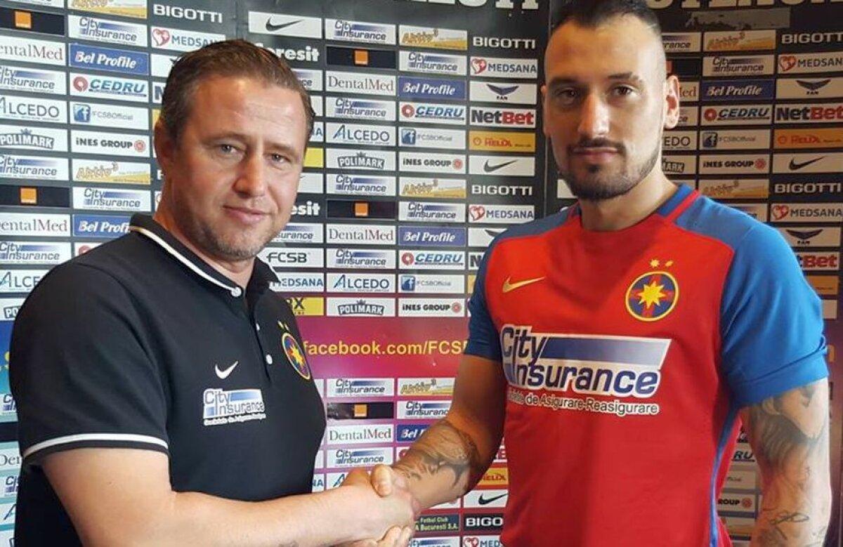EXCLUSIV Jucătorul dorit de Reghecampf a semnat în sfîrșit cu Steaua!