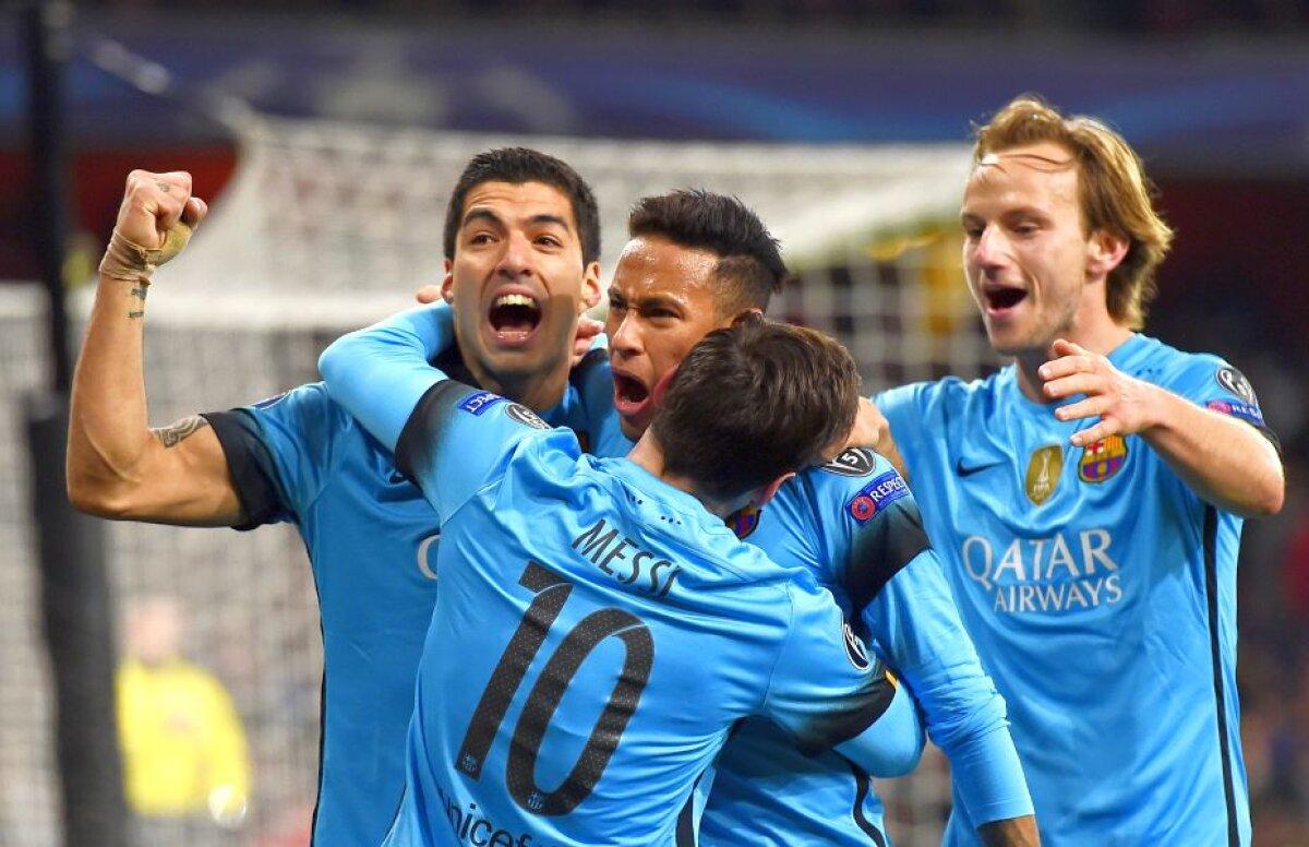 """VIDEO+FOTO Ploaie de goluri în """"optimile"""" Ligii Campionilor » Revenire spectaculoasă a lui Juve în fața lui Bayern + Barcelona a învins-o pe Arsenal"""