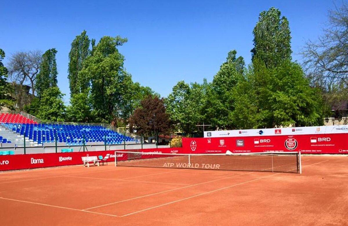 FOTO Începe ultima ediție a BRD Năstase Țiriac Trophy! Organizatorii au prezentat noul teren principal