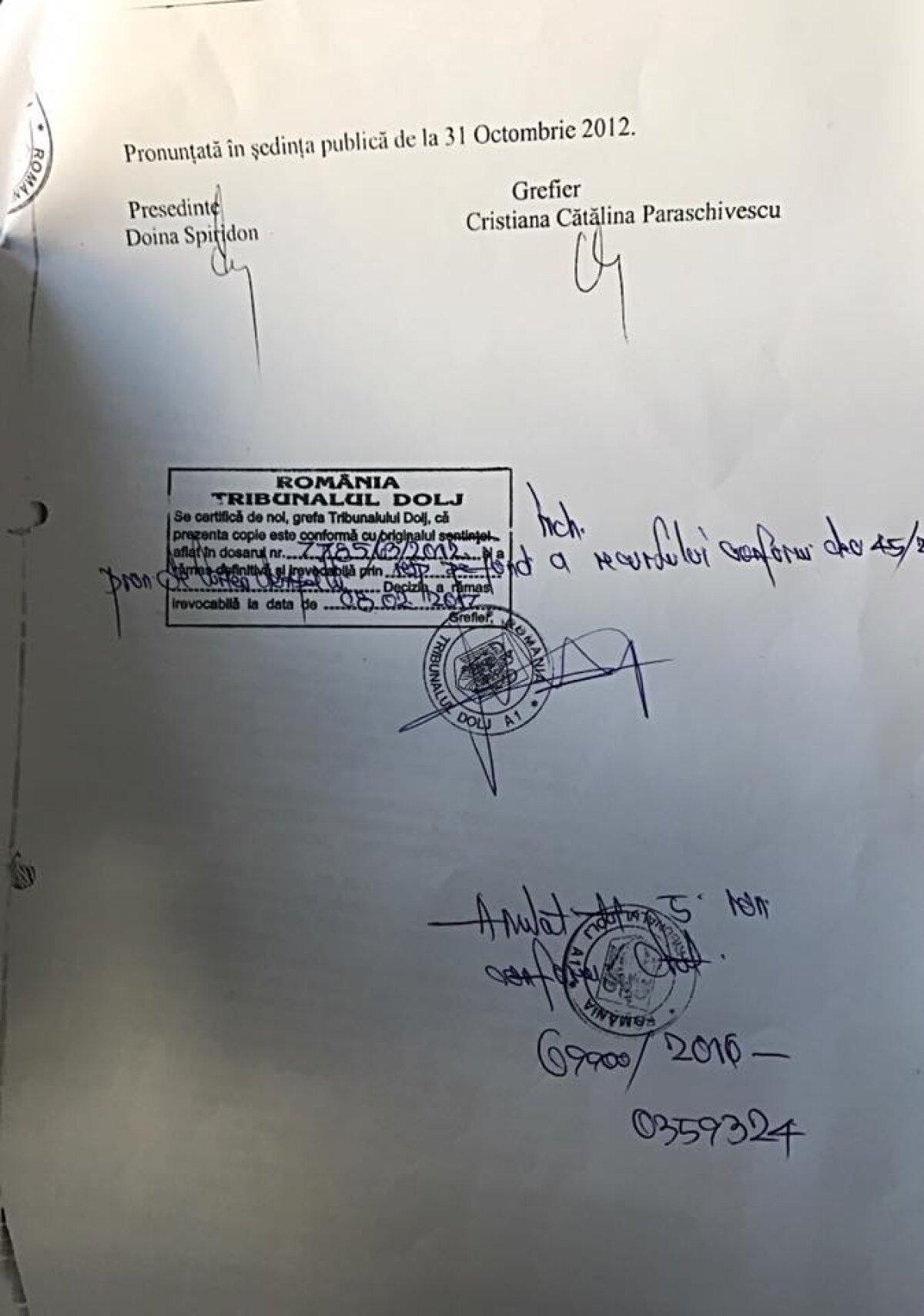 """FOTO O zi până la un nou termen în cazul dezafilierii Universității Craiova! Mititelu a publicat noi acte: """"Dovada că n-am încălcat statutul FRF!"""""""
