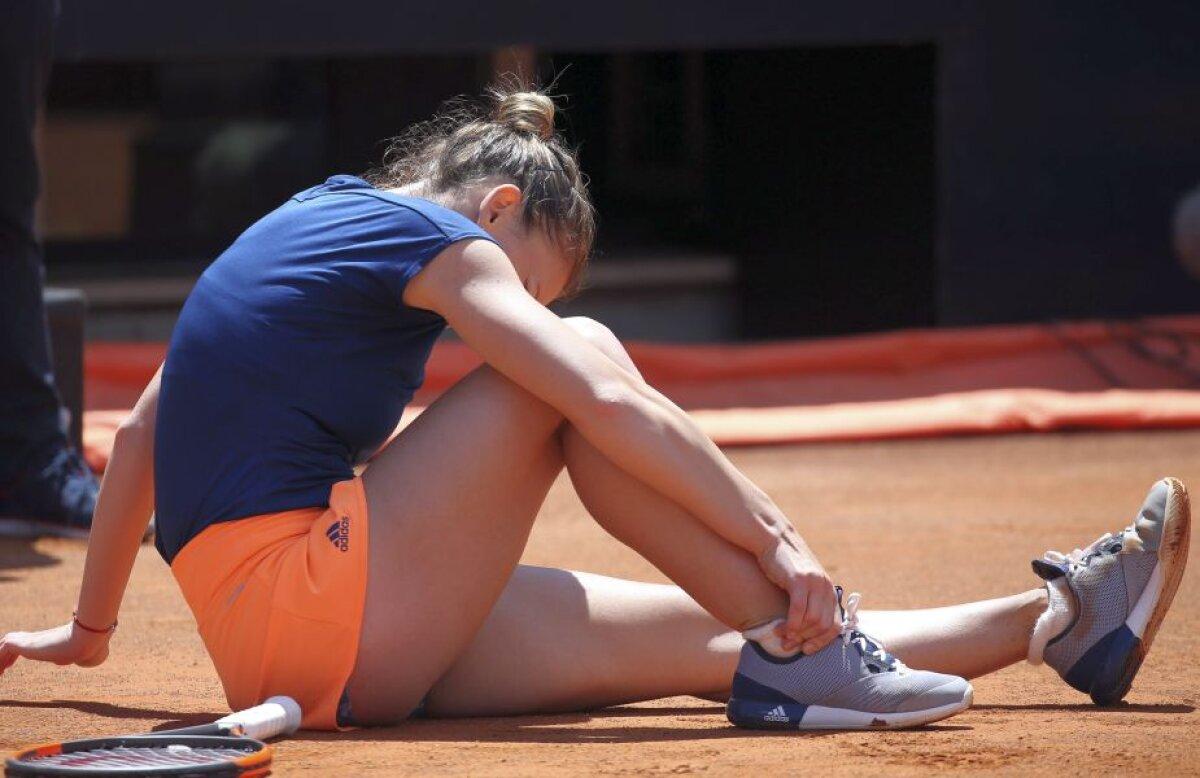 FOTO Simona Halep, învinsă în finală la Roma » Românca ratează ocazia de a reveni pe podiumul mondial + Prima reacție de după meci