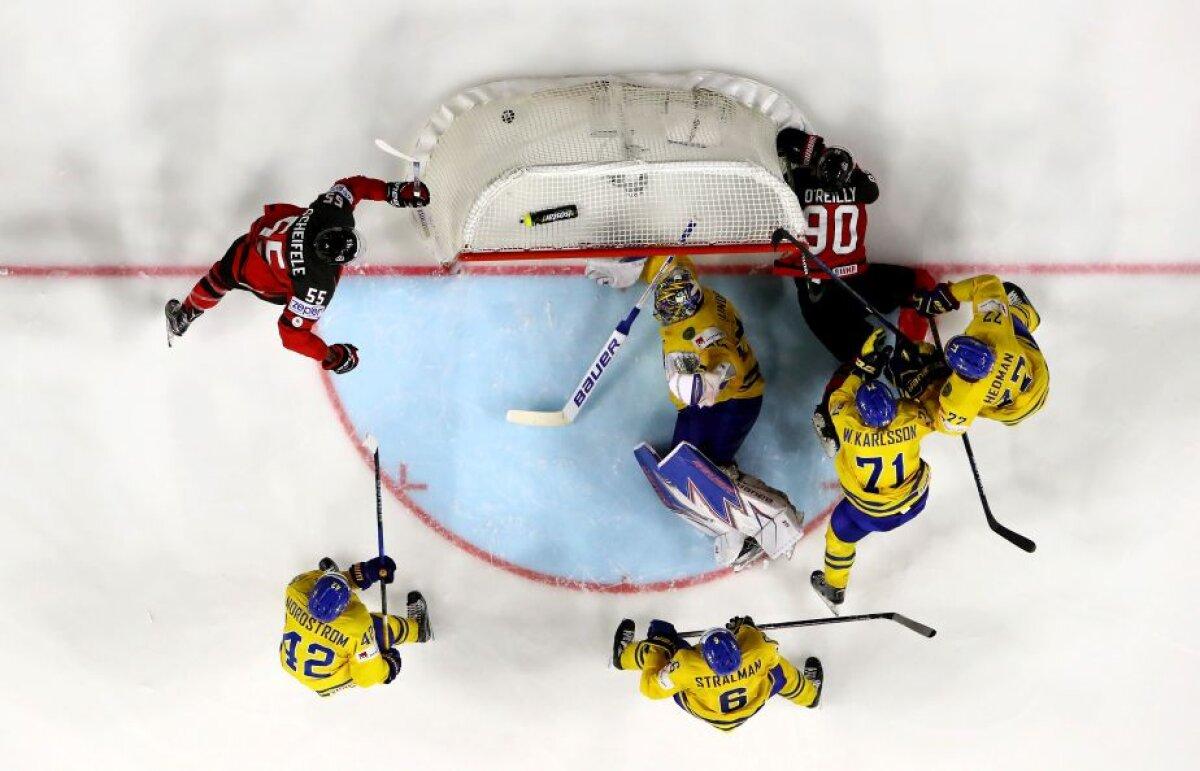 GALERIE FOTO Suedia a cucerit aurul după un meci dramatic în fața Canadei