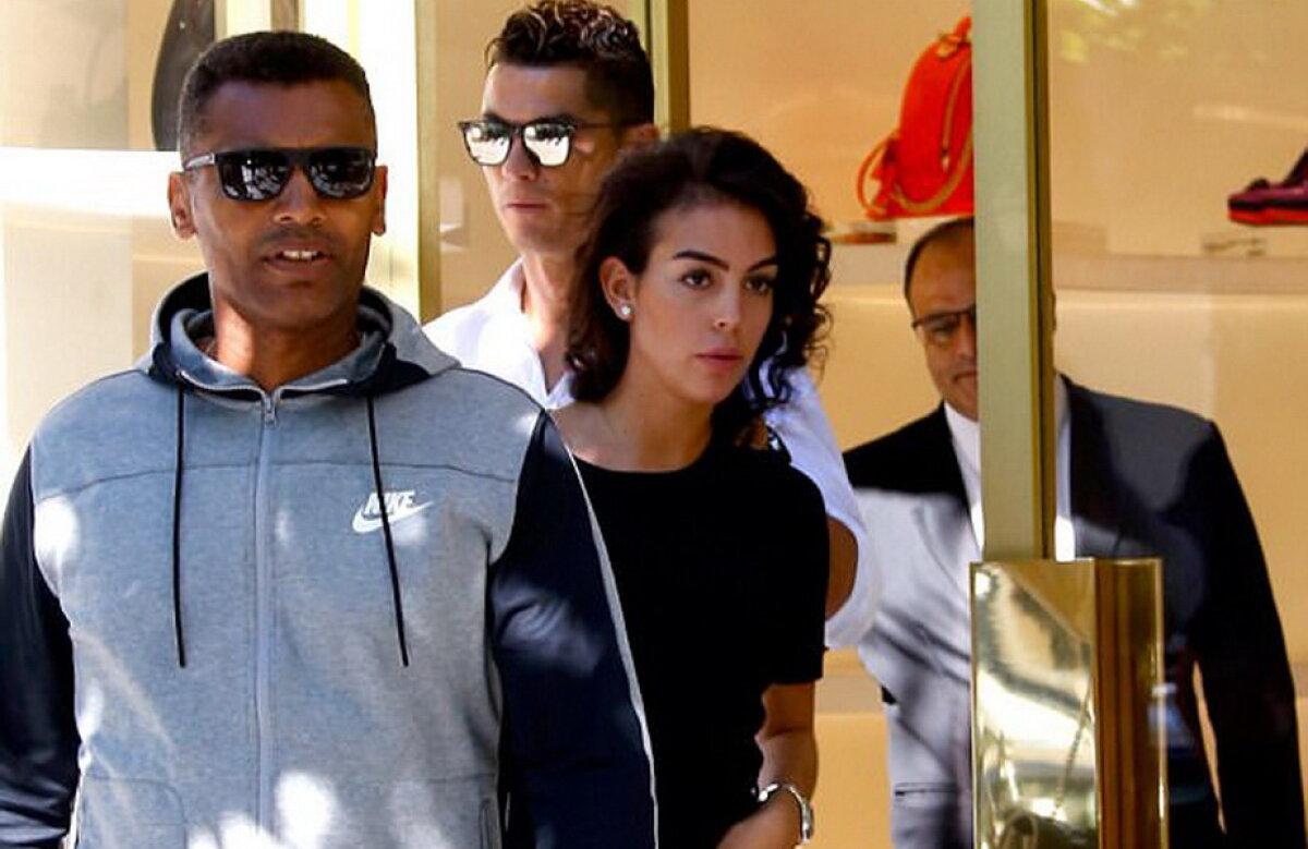 FOTO Iubita lui Cristiano Ronaldo, în cei mai scurți pantaloni. A întors toate privirile în Madrid!