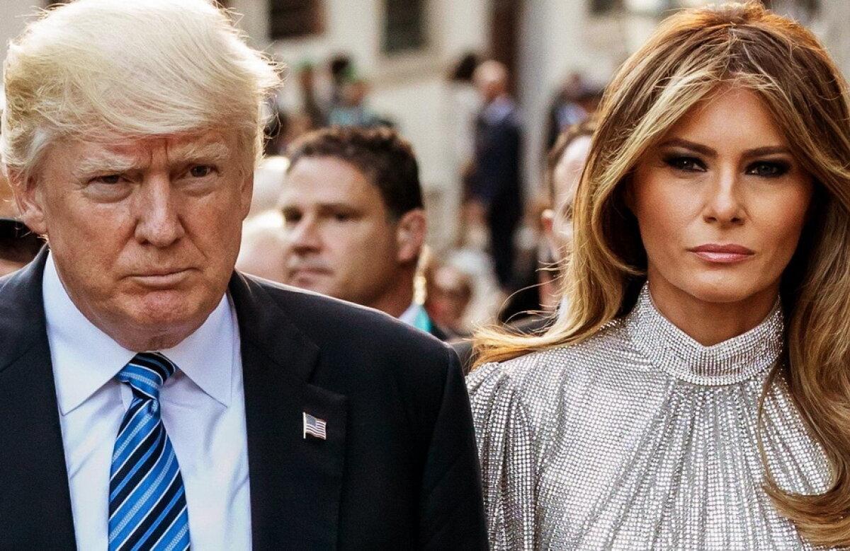FOTO Melania și Donald Trump au statui la Banja Luka. Vei râde cu lacrimi când le vei vedea!