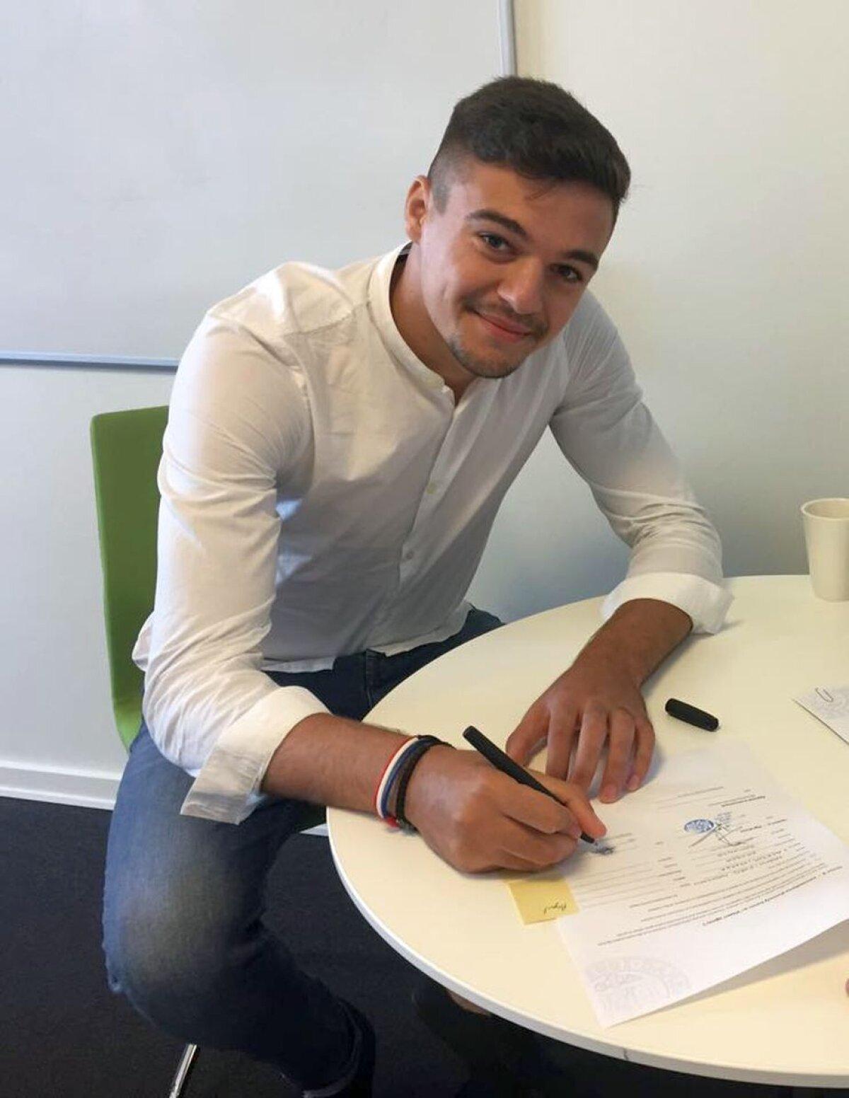 OFICIAL Dorit de FCSB, jucătorul a mers în Danemarca » A semnat un contract pe 4 ani și clubul a încasat o sumă record