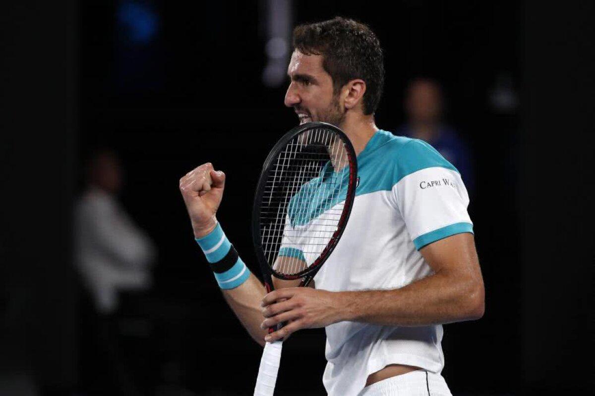 GALERIE FOTO 20GER Federer! » Elvețianul s-a impus în 5 seturi în finala de la Australian Open cu Marin Cilici și a ajuns la 20 de turnee de Mare Șlem câștigate