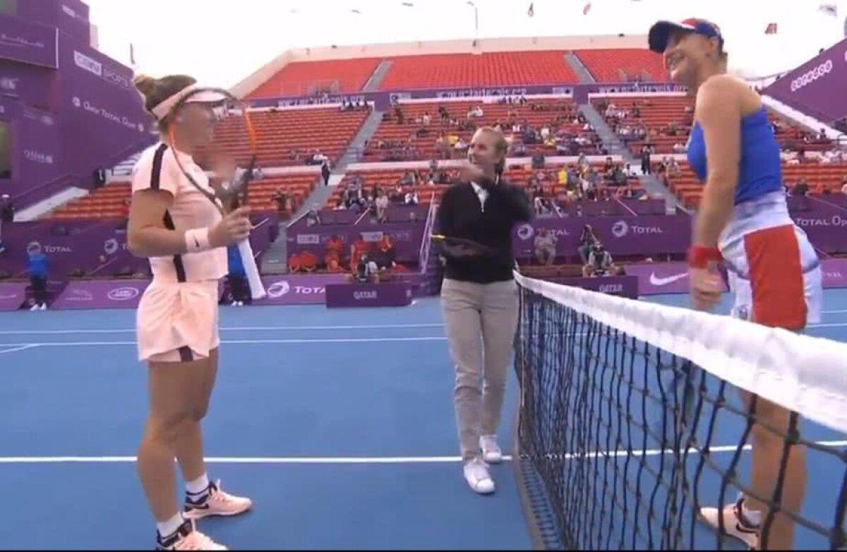 VIDEO Simona Halep, meci perfect în turul II la Doha » Victorie în fața Ekaterinei Makarova + cu cine va juca în runda următoare