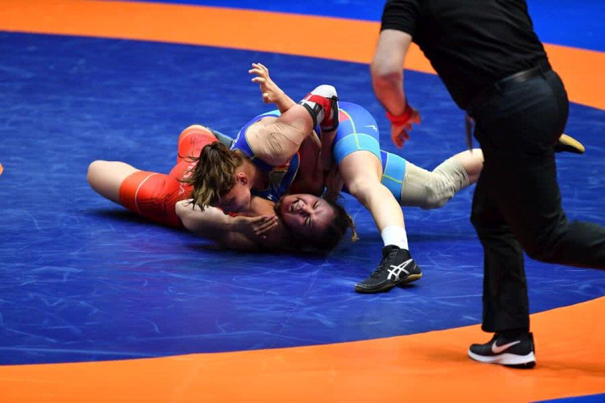 GALERIE FOTO Argint asigurat, bronz cucerit » Kriszta Tunde Incze luptă pentru titlul european, Beatrice Ana a cucerit bronzul la Europenele de lupte!