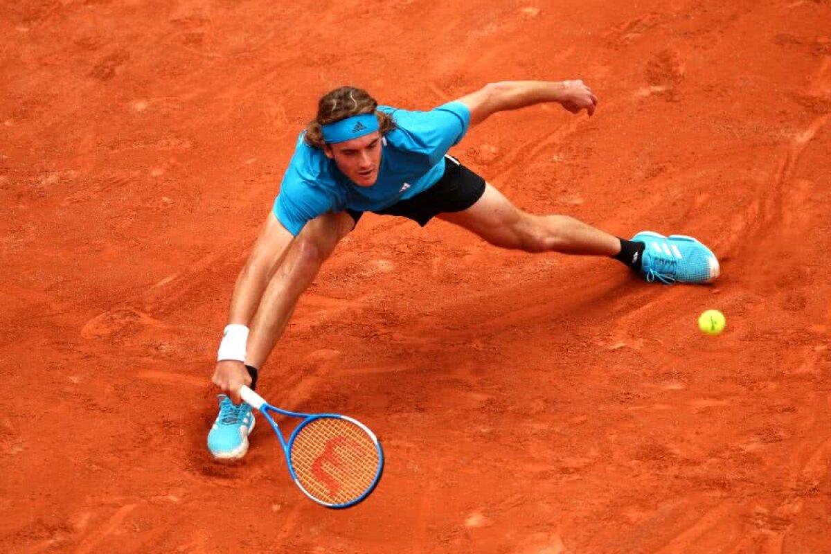 ROLAND GARROS 2019 // VIDEO + FOTO Stefanos Tsitsipas, start fulgerător la Roland Garros + Ernests Gulbis, semifinalist în 2014, a fost eliminat