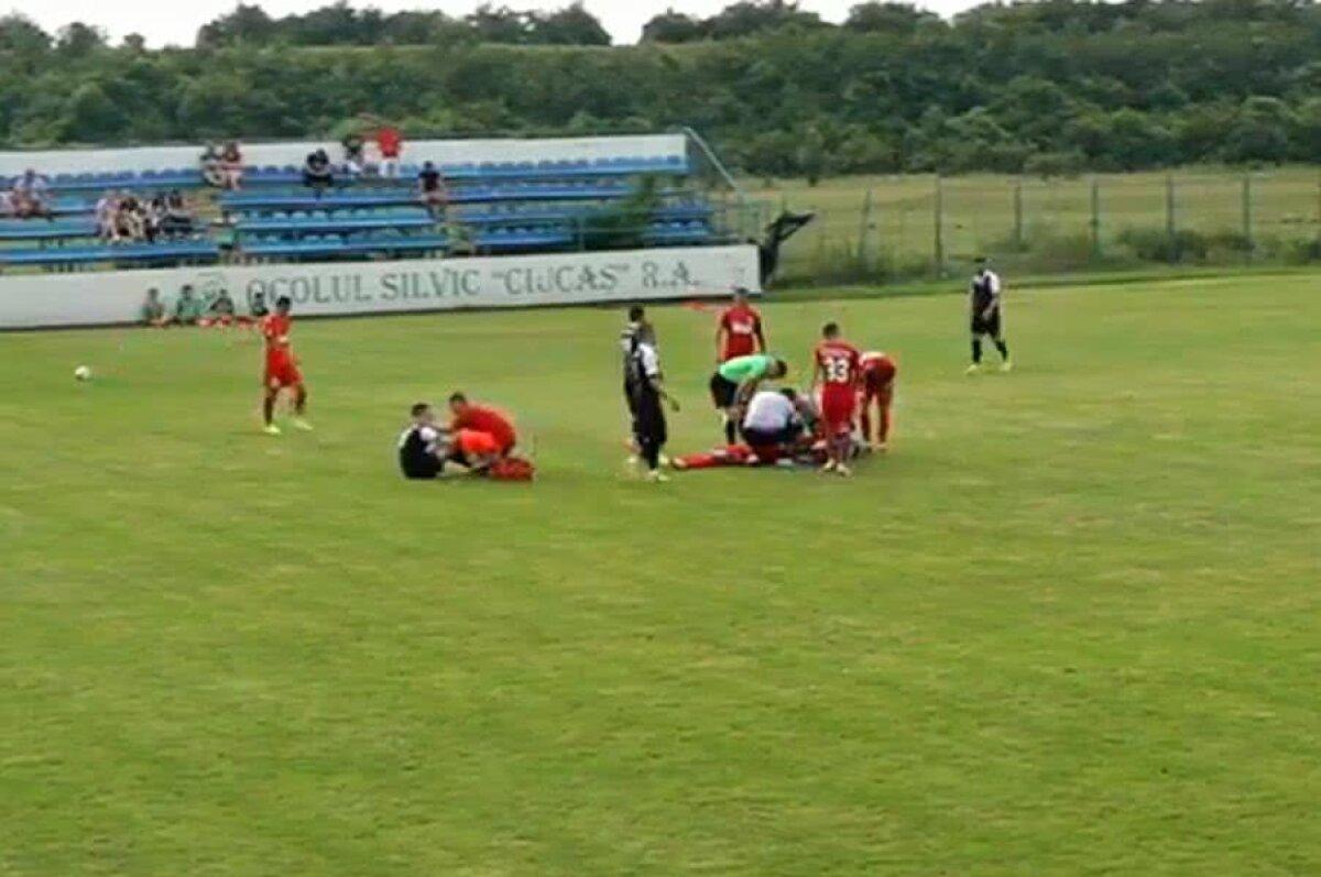 VIDEO Junior Morais s-a accidentat în primul amical al lui FCSB după o ciocnire cu un adversar!