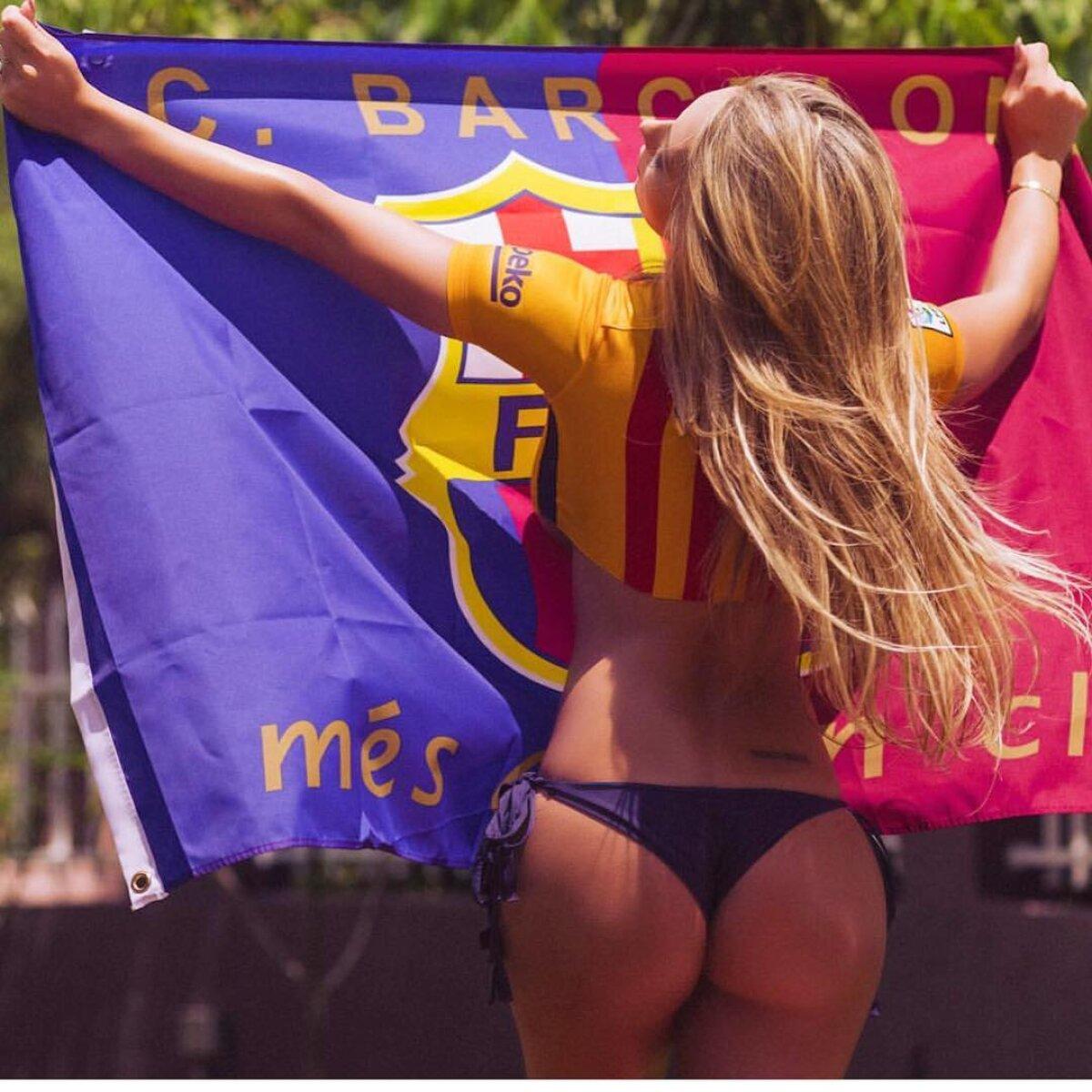Ea salvează El Clasico! Livia Gullo i-a înnebunit pe bărbați cu pozele ei de pe Instagram