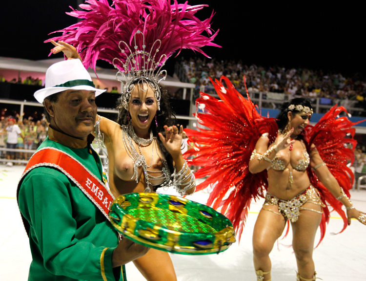 Brutal killing of a samba queen exposes dark world behind the glitter of carnival