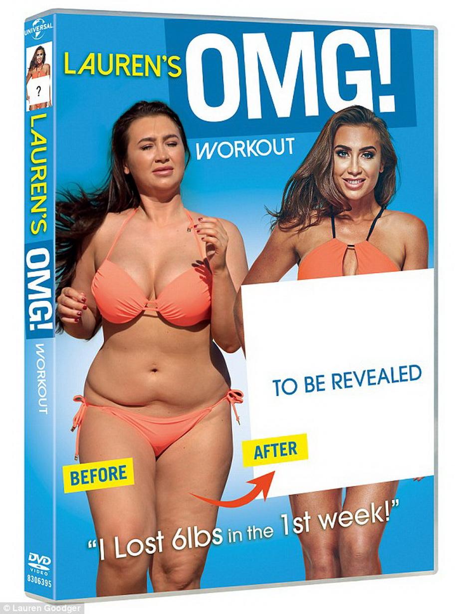 Lauren Goodger a lansat un DVD cu fitness, după ce a pierdut foarte mult în greutate