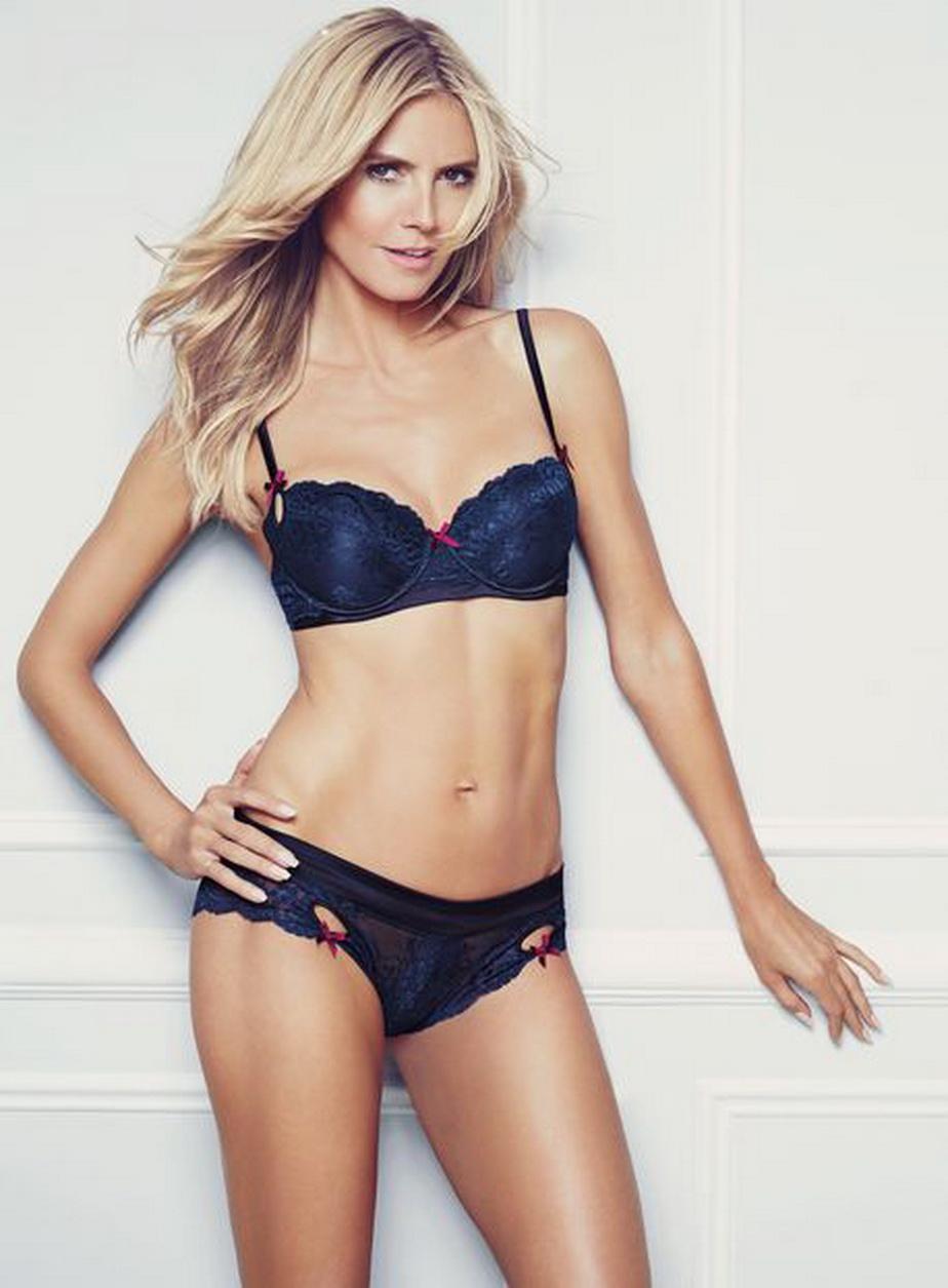 Heidi Klum, ilegal de seducatoare în lenjerie intima