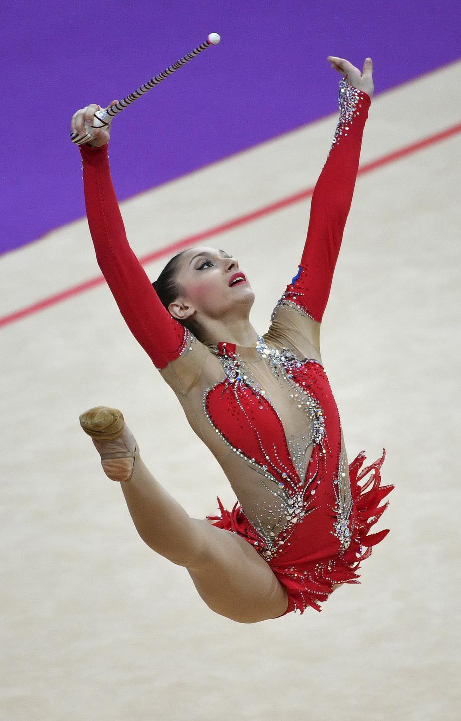 Imagini superbe cu o sportivă româncă! Ana Luiza Filiorianu a oferit un spectacol complet