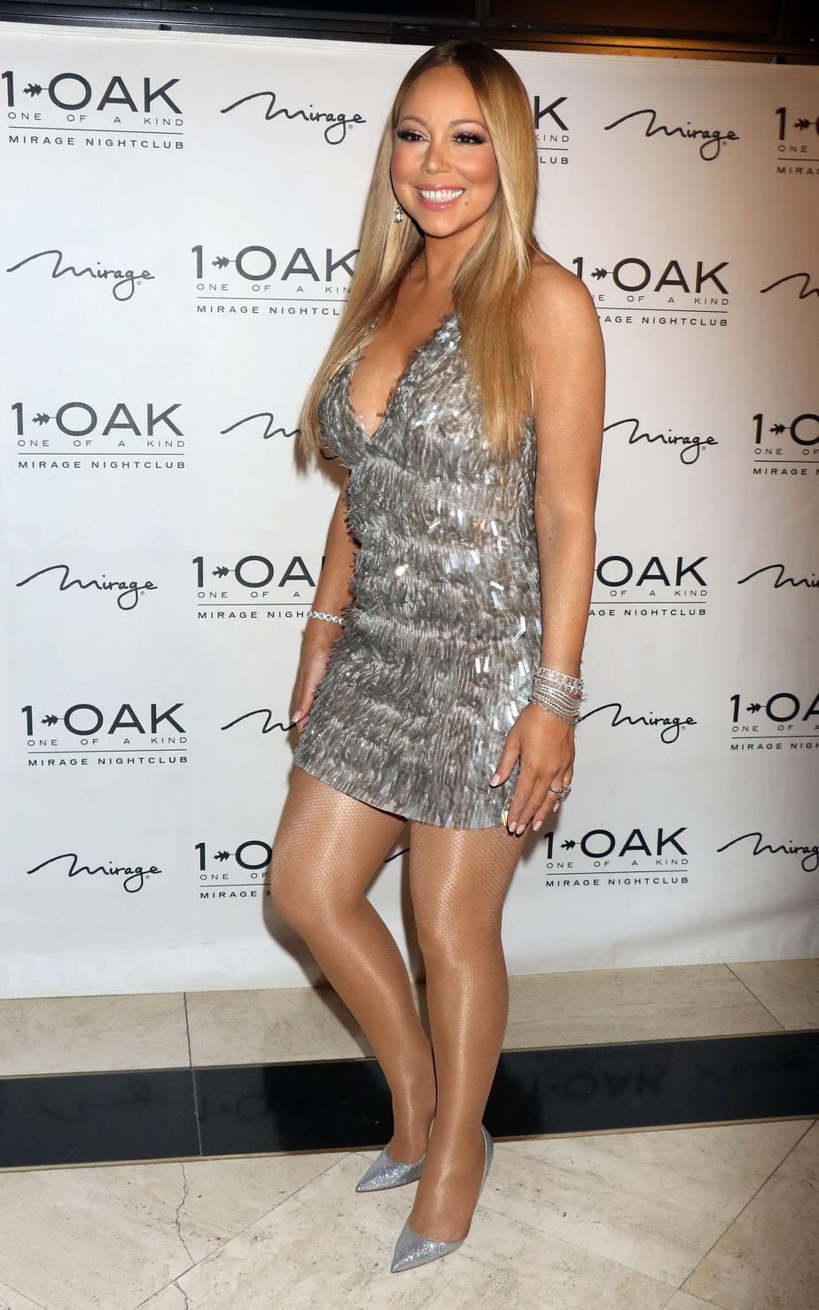 Mariah Carey, ravisantă la o petrecere din Las Vegas