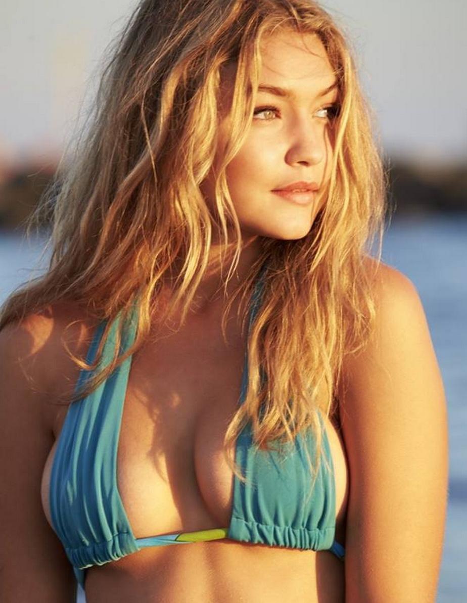 Gigi Hadid nu a mai așteptat vara. A ridicat gradele în termometre la plajă