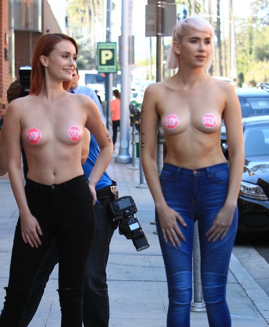 Breaking united state federal court rules in favour of female boobs exposure