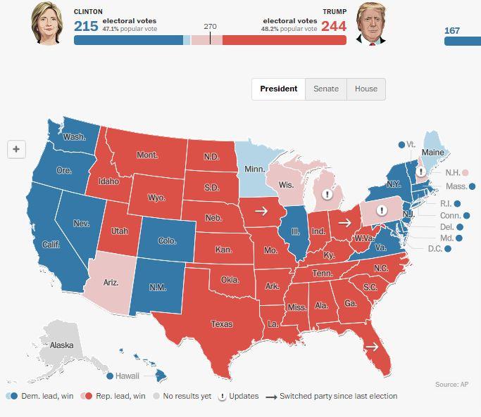harta electori