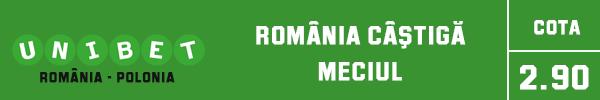 romania castiga