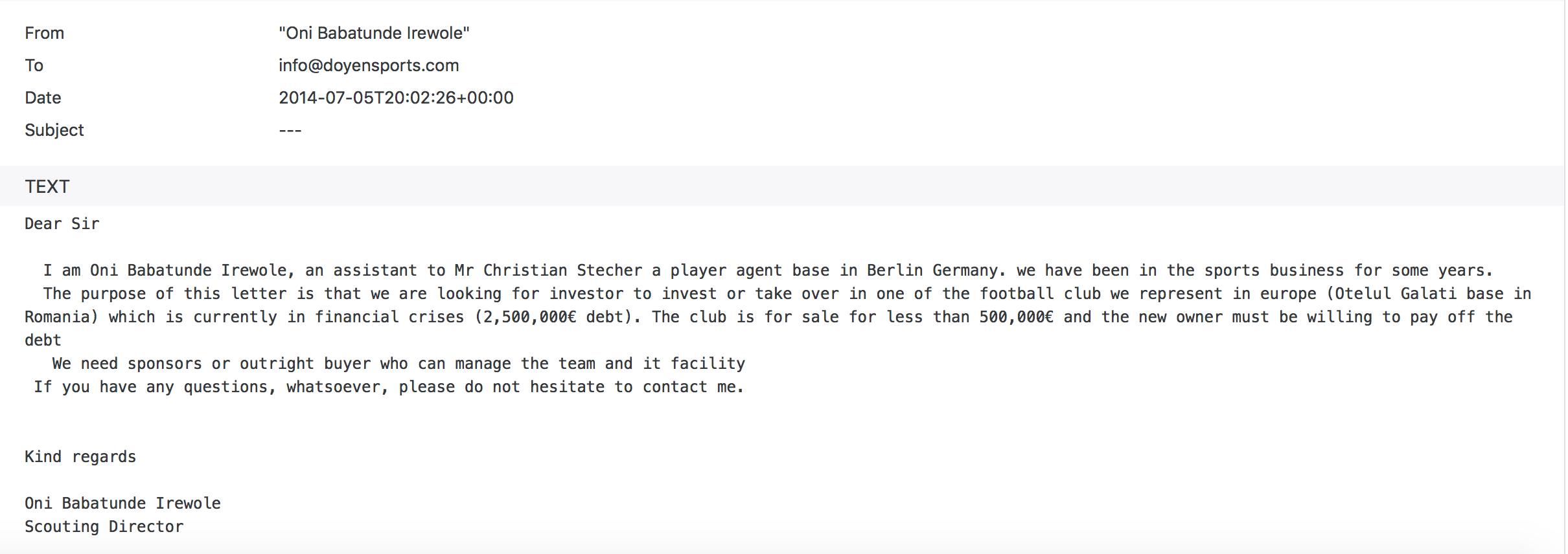 mail football leaks