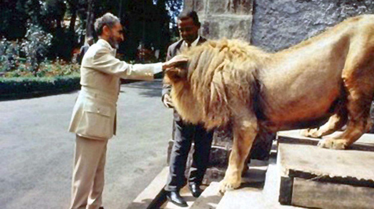 h.i.m. haile selassie i lion1