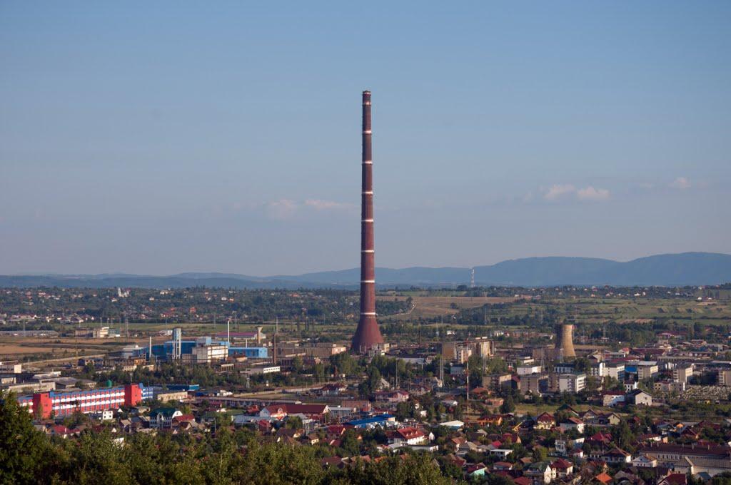 turnul combinatului baia mare