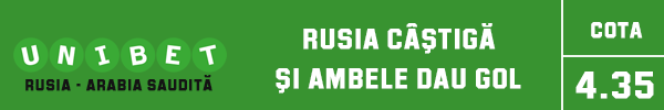 rusia castiga ambele dau gol