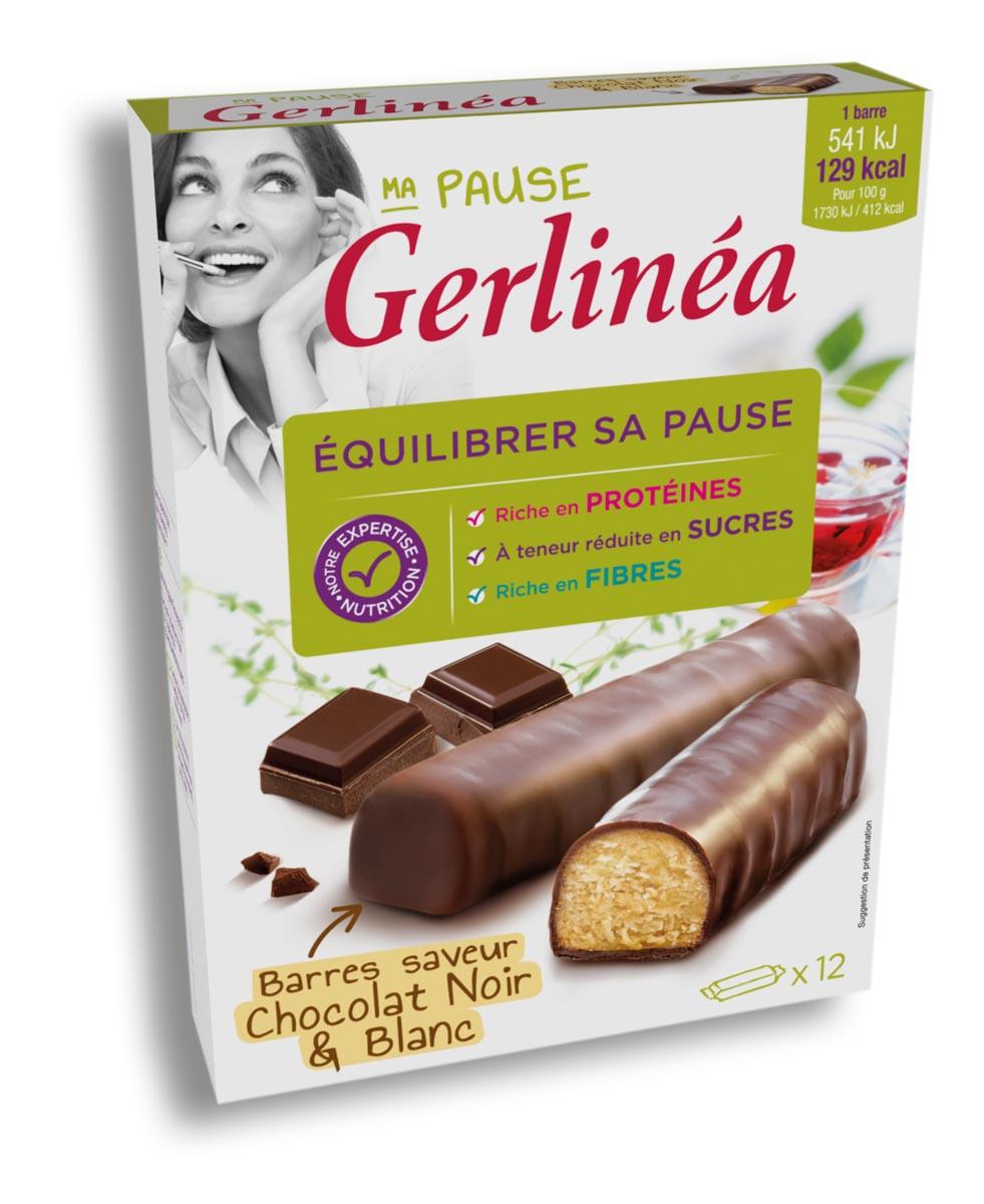 gerlinea batoane duo ciocolata 372g