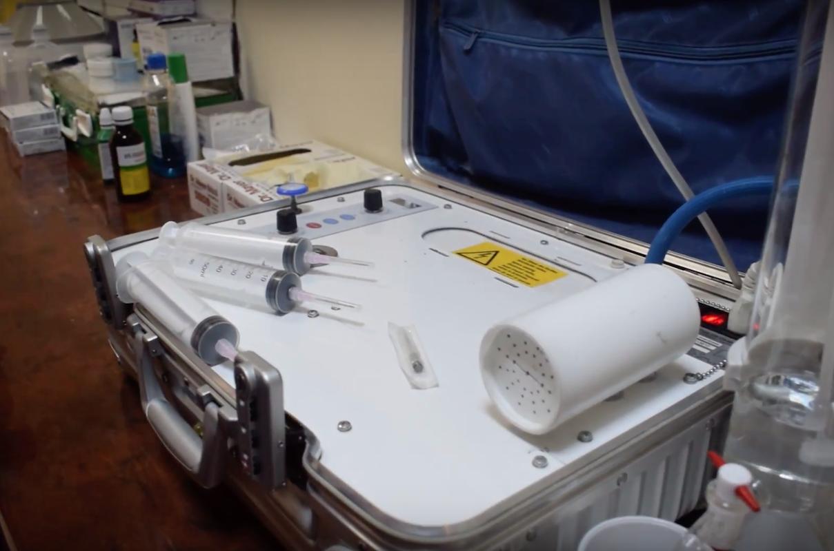 aparatul ozonosan n cabinetul doctorului tiron online
