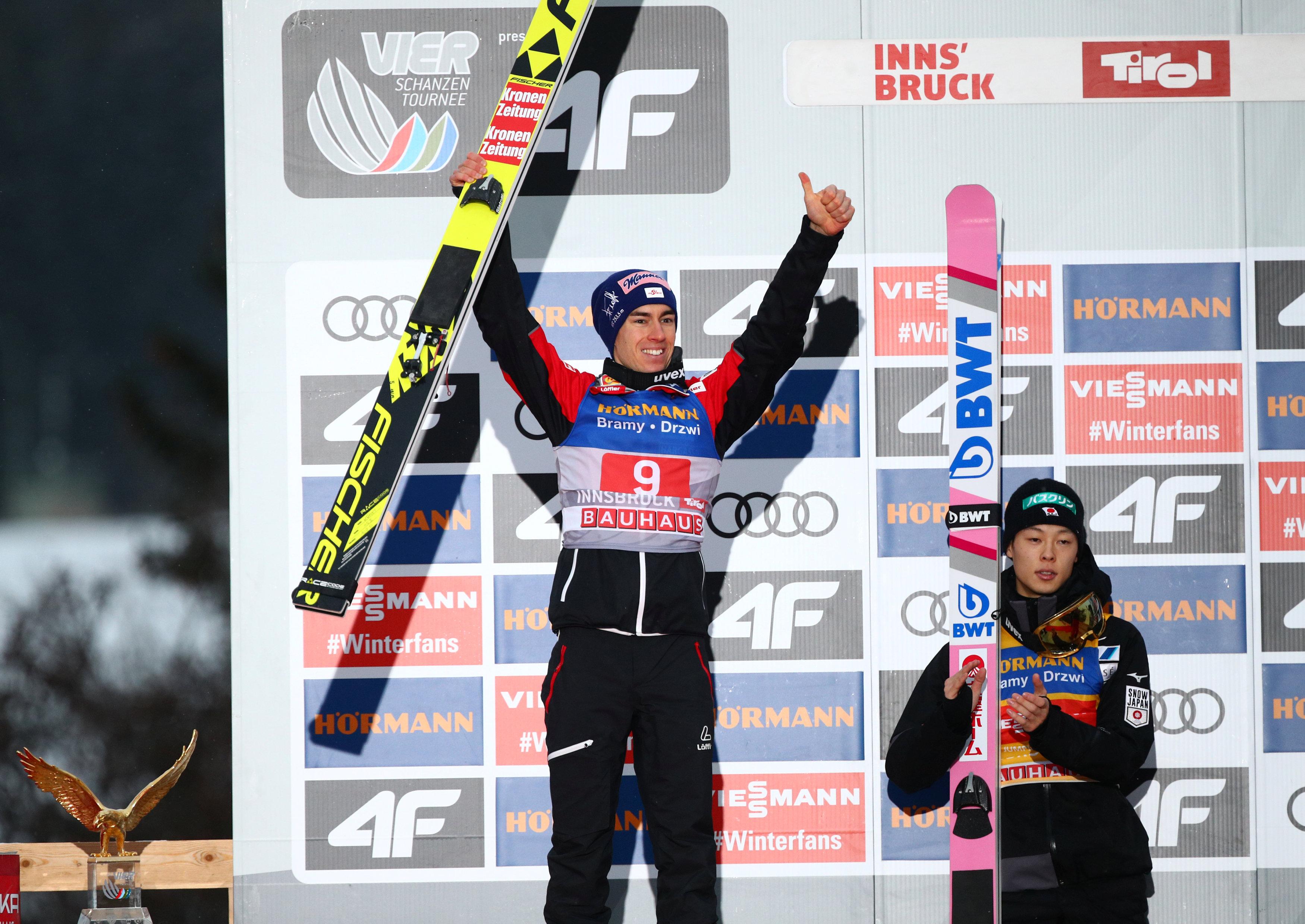 2019 01 04t151941z 1752675977 rc1d947e3bb0 rtrmadp 3 ski jumping 4hill innsbruck
