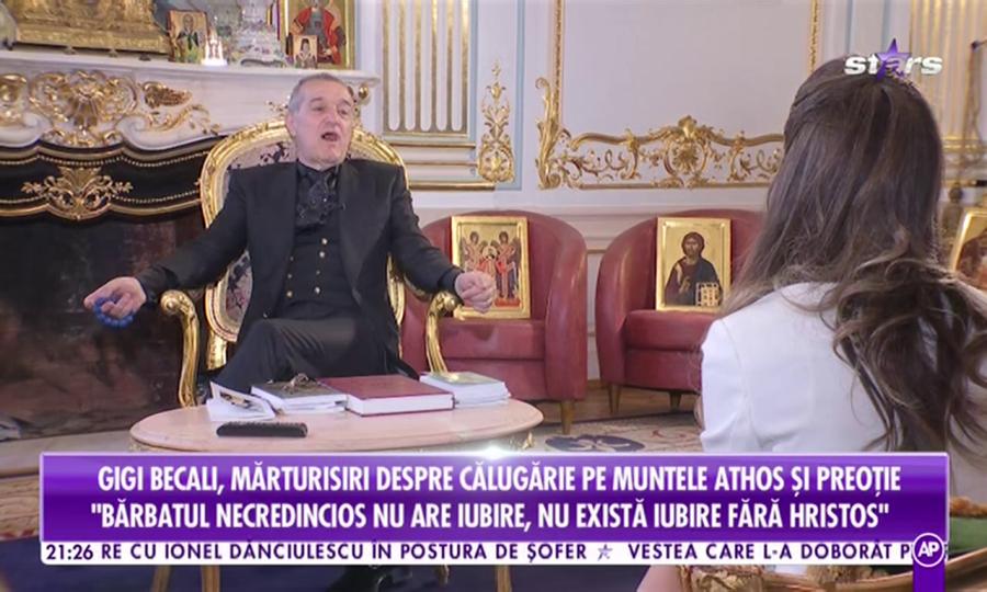 Maria Iordănescu, Gigi Becali