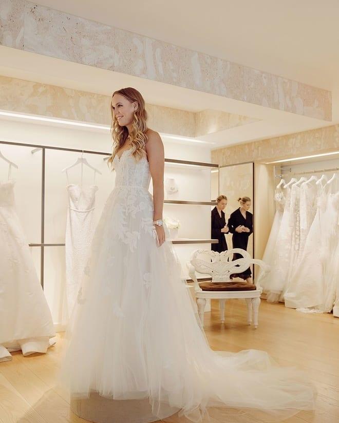 FOTO: Instagram // Caroline Wozniacki s-a căsătorit în Toscana