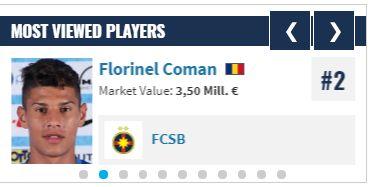 florinel coman transfermarkt