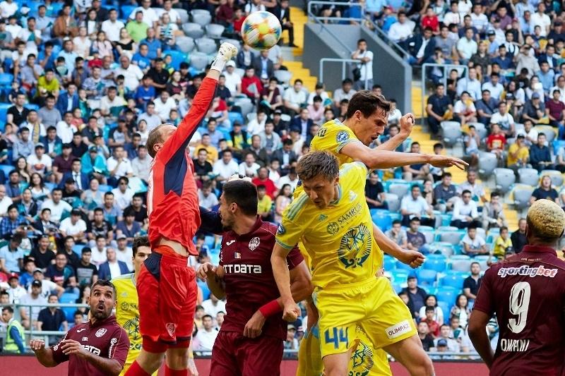 Astana - CFR 1-0 FOTO: sports.kz